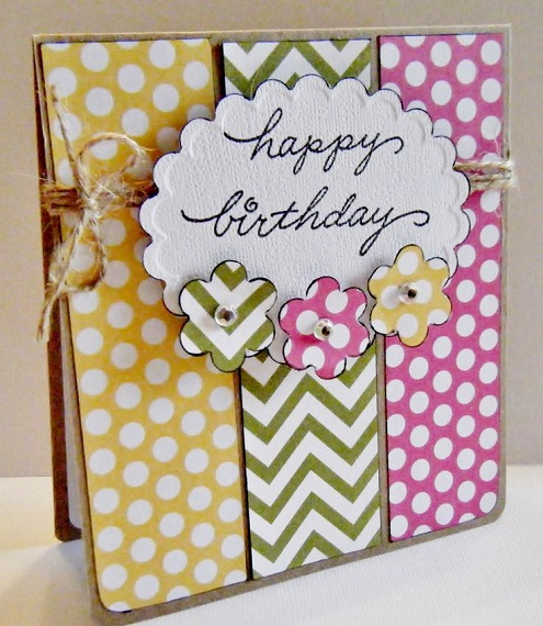 Handmade Happy Birthday Card Ideas - BirthdayWishings.com