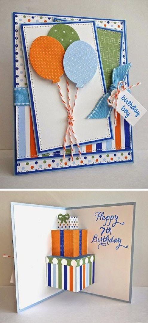 Homemade diy birthday card ideas for boyfriends