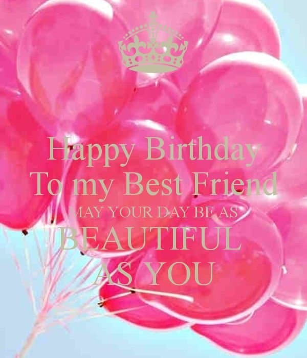 52 Best Birthday Wishes For Friend With Images 4 Quotes