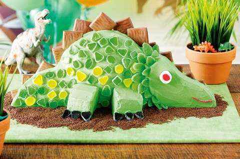 birthday cake pictures for little dinosaur lovers