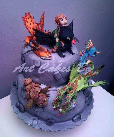 birthday cake pictures For Your Little Toothless Fanatics