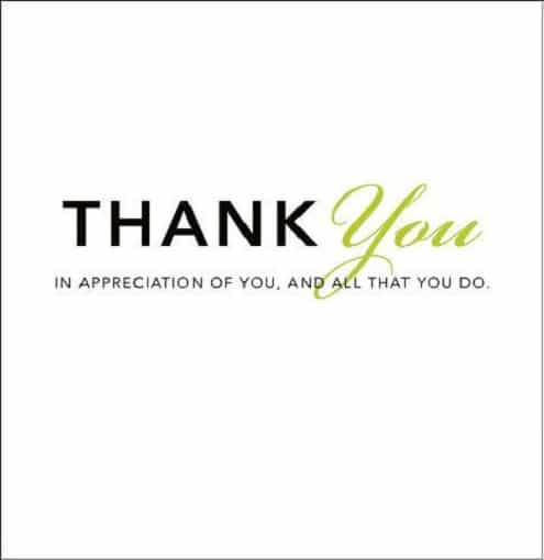 inspirational birthday thank you quotations