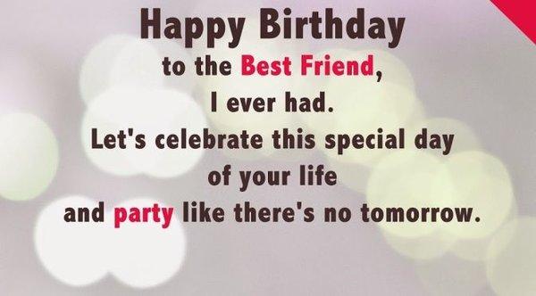 unique birthday wishes for best friend
