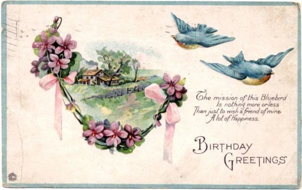 vintage birthday wishes for friend