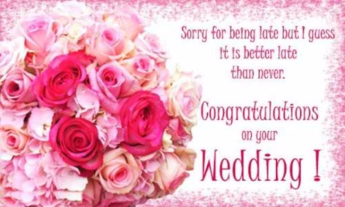 Happy Wedding Wishes