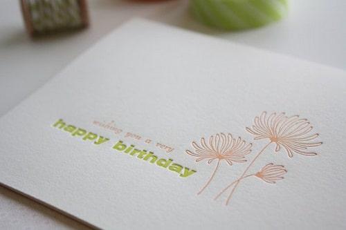 Flowers Handmade Greeting Cards