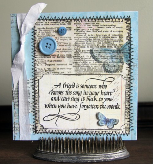 Calligraphy Scrapbook Ideas