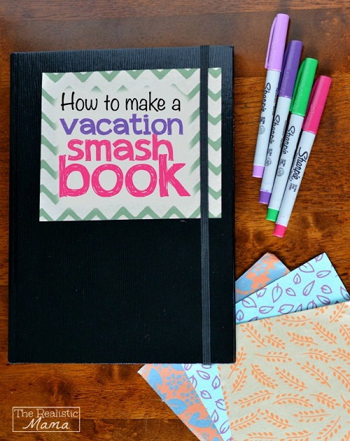 Different Pens Scrapbook Ideas