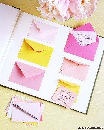 Envelopes Scrapbook Ideas