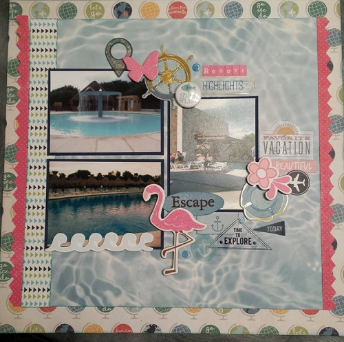 Stickers Scrapbook Ideas