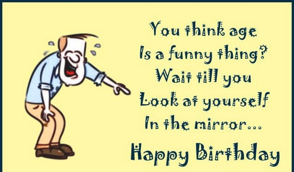 Funny Birthday Card Message