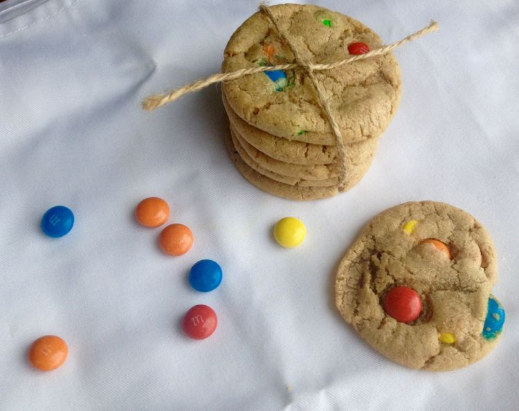 Subway M&M's cookies