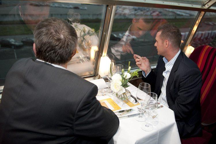 Bijzondere restaurants in voertuigen: panorama rail