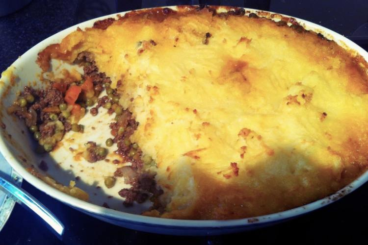 Klassieke shepherd's pie