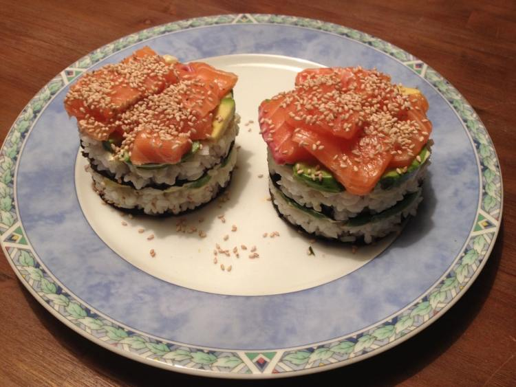 sushi taartjes