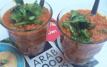 Arab Food Box: tomaten couscous soep