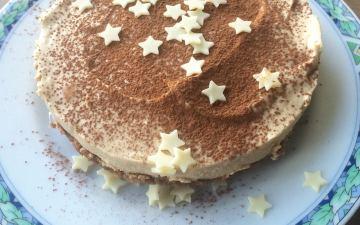 no bake cheesecake koffie & baileys