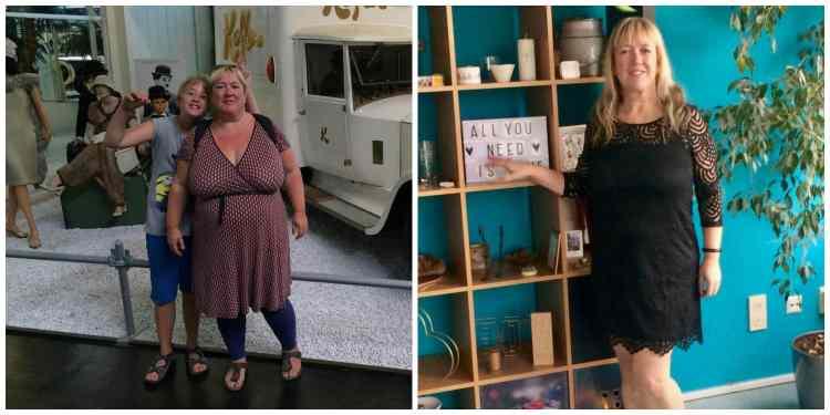 voor en na 1 jaar