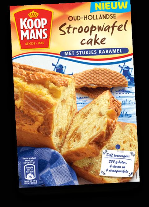Nutteloze pakjes en zakjes: Koopmans stroopwafelcake