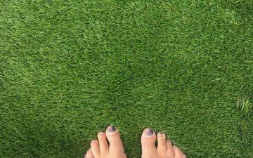 tapijt van kunstgras
