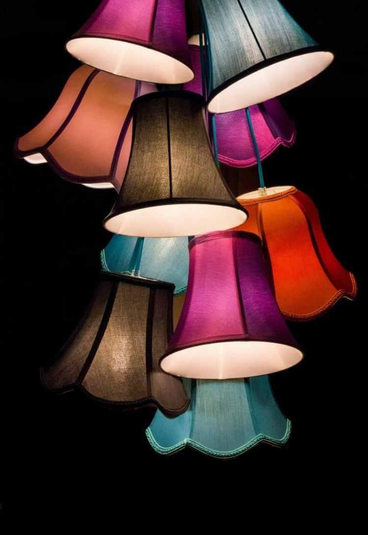 Lichtplan lampenkapjes
