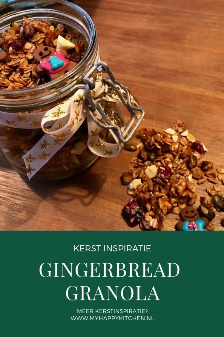 gingerbread granola
