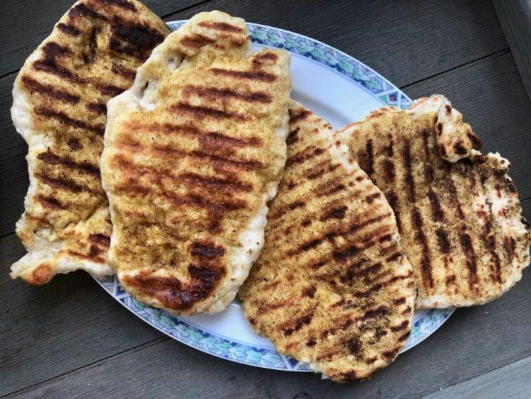Gemakkelijke Indiase naanbroodjes
