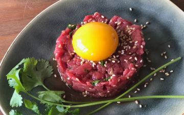 Aziatische steak tartare