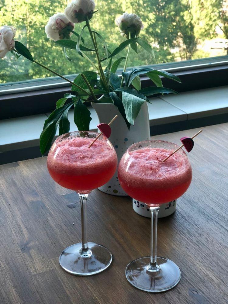 Prosecco watermeloen cocktail