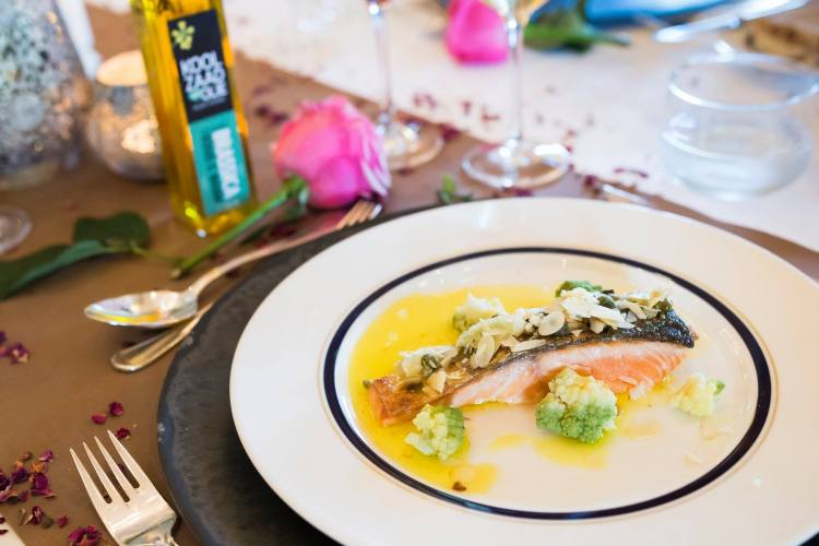 the grand blogger diner - zalm