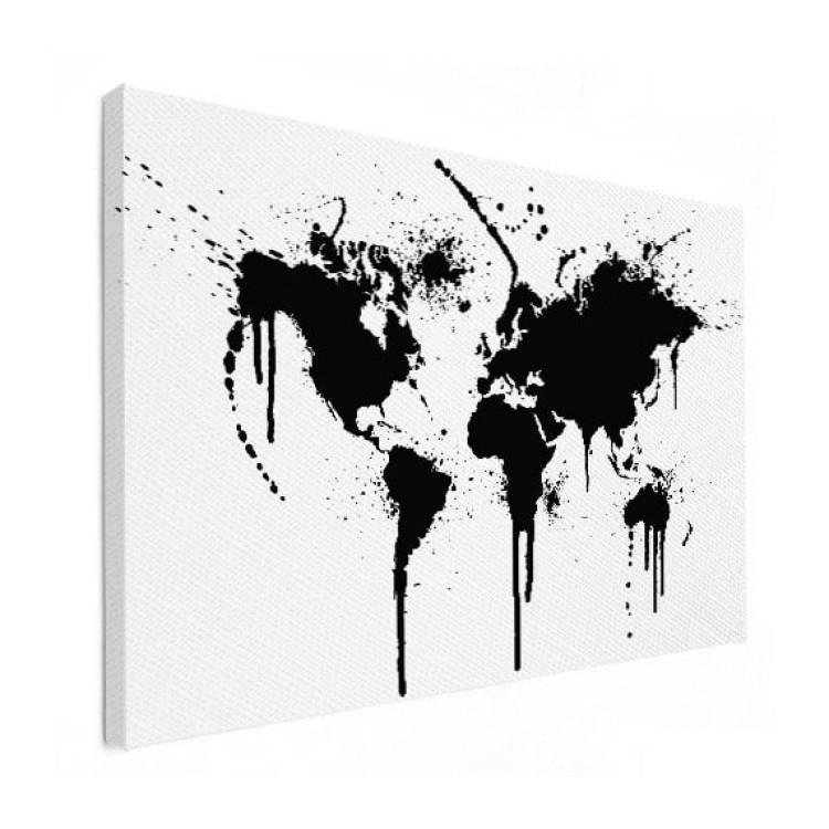 wereldkaart grafisch