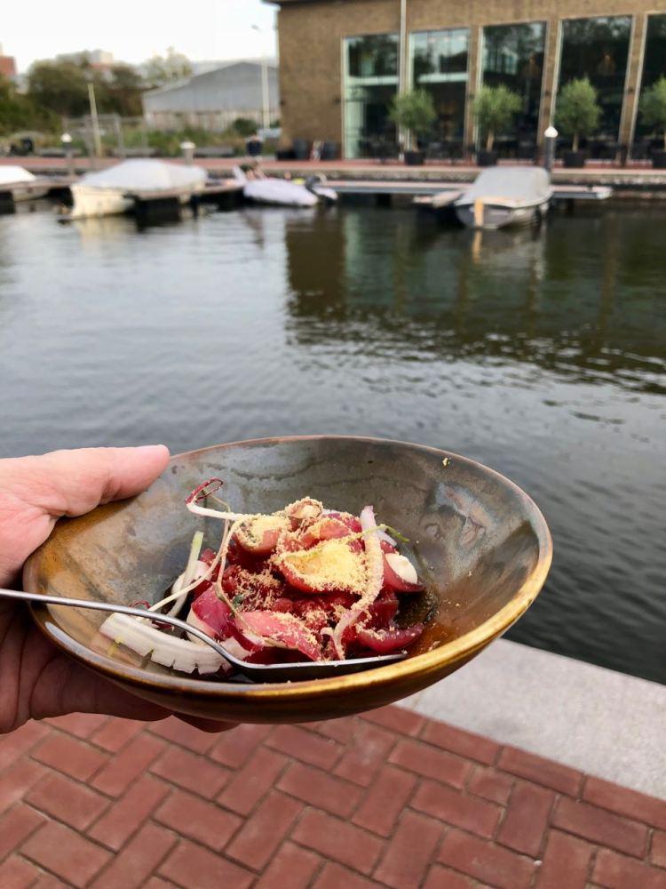 de hotspots van den haag: restaurant Glaswerk