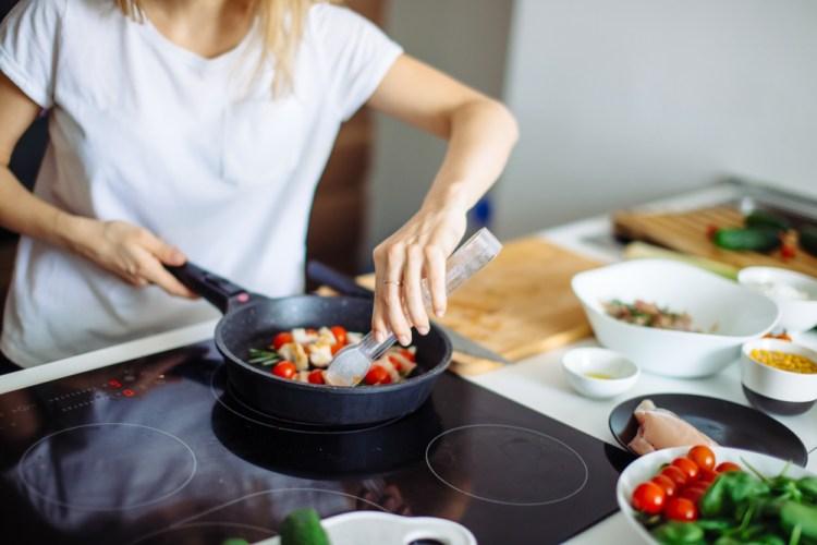 koken op gas versus elektrisch - keramisch