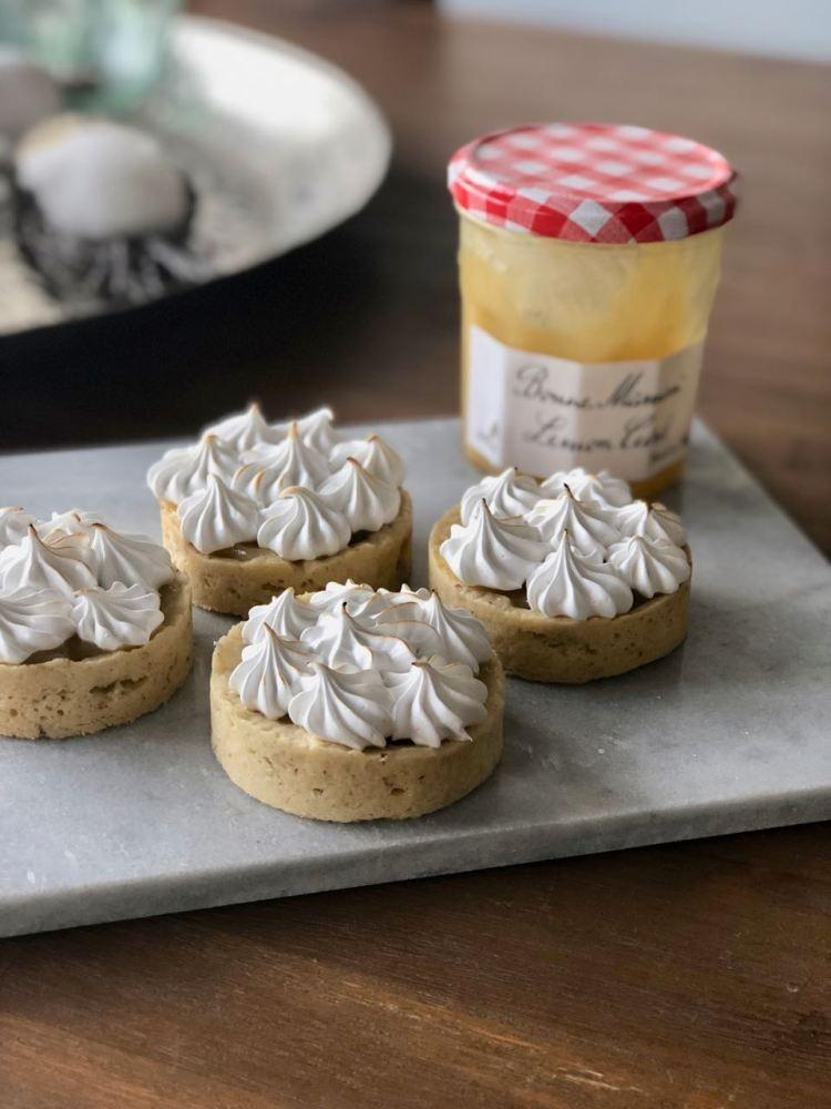 lemon meringue tartelettes