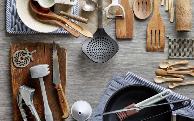 Keukentools en -apparaten