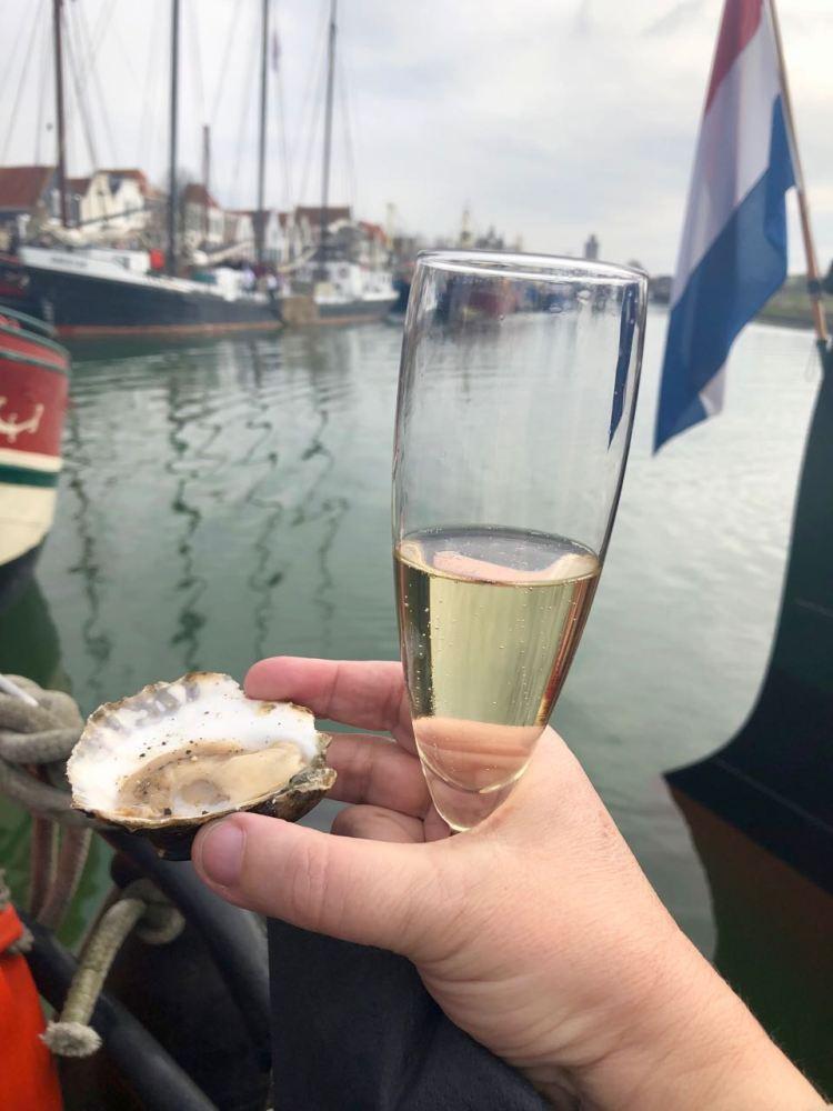 Oesters en champagne