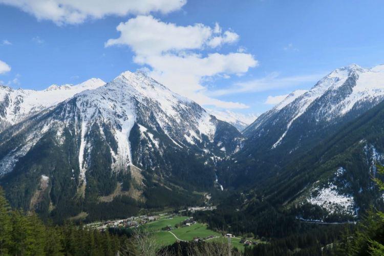 autoroutes in Salzburgerland en Tirol - gerlospas