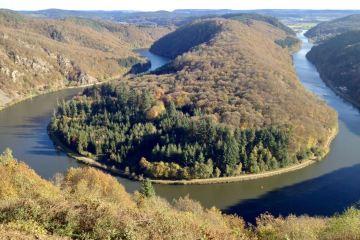 Saardal en Saarschleiffe