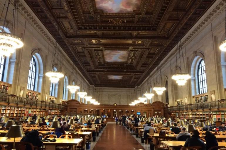 Kostenlos und ziemlich hübsch: Der Lesesaal der New York Public Library