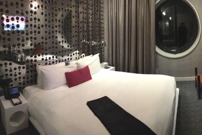 Stylishes Design bis ins Zimmer im Dream Downtown