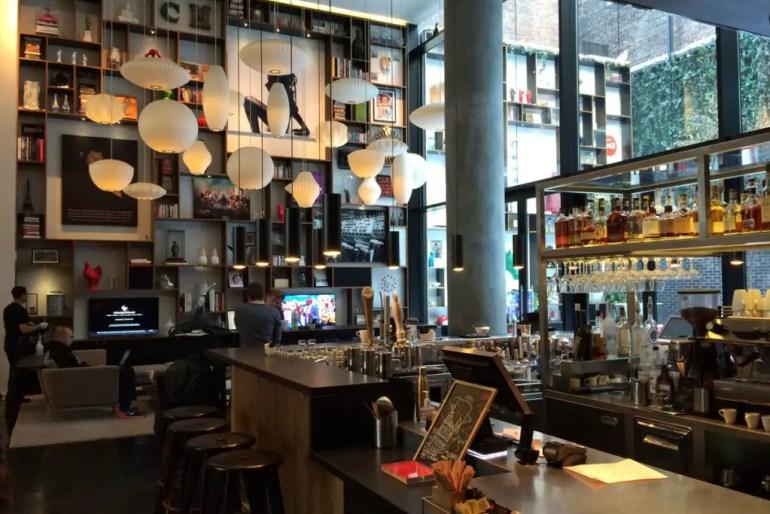 Einer der Hoteltipps für New York: das CitizenM am Times Square
