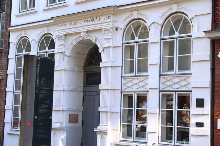 Das Buddenbrookhaus beherbergt heute ein Museum