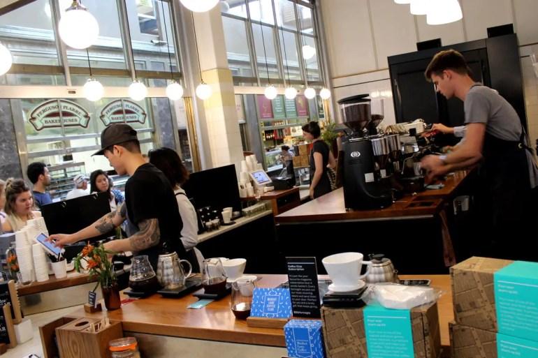 Bei Market Lane Coffee lohnt sich das Anstehen