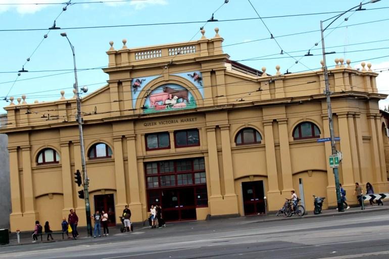 Eine von Melbournes Attraktionen: der Queen Victoria Market