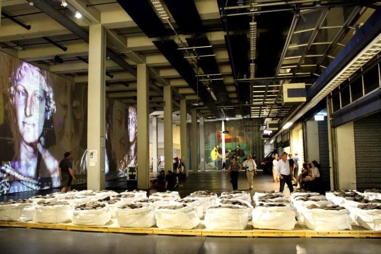 Die leerstehende alte Hauptpost wird während der Documenta zur Ausstellungsfläche