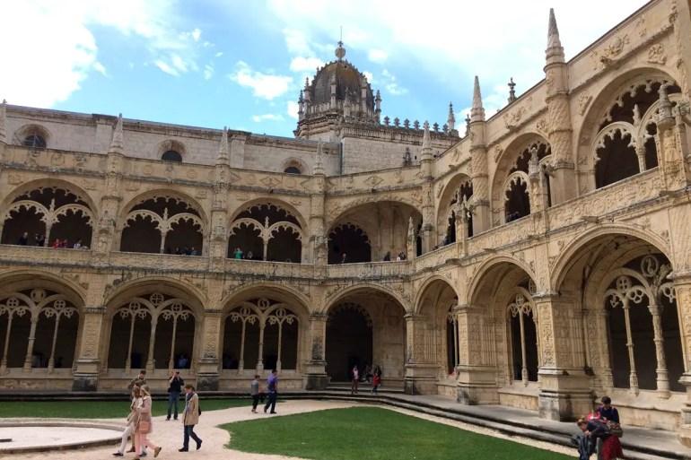 Ein Prunkstück: der Kreuzgang im Mosteiro dos Jerónimos