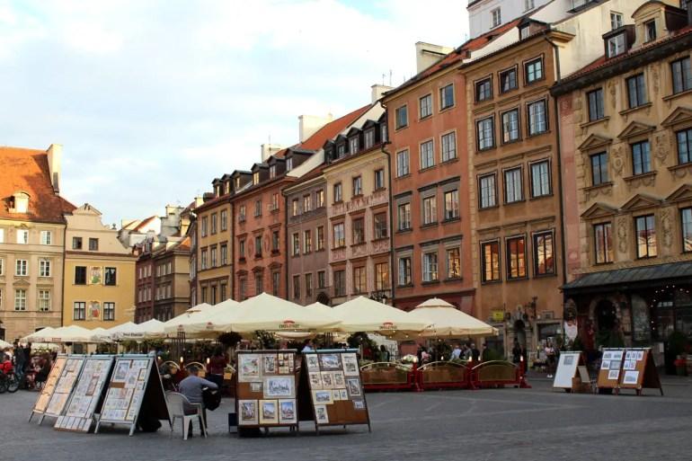 Abendstimmung auf dem Altstädter Markt
