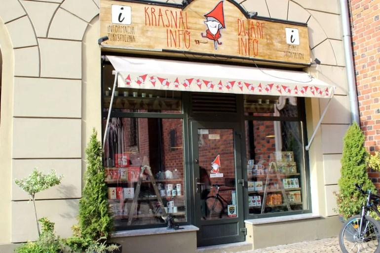 Die Zwerge haben in Breslau eine eigene Touristeninformation
