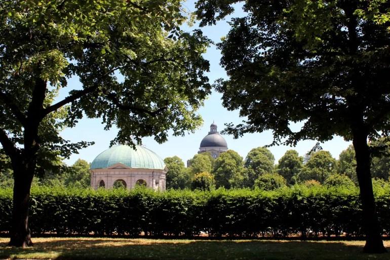 Ein schattiges Plätzchen zwischendurch: der Hofgarten