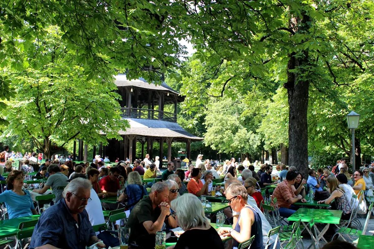 Munchen Hotel Englischer Garten
